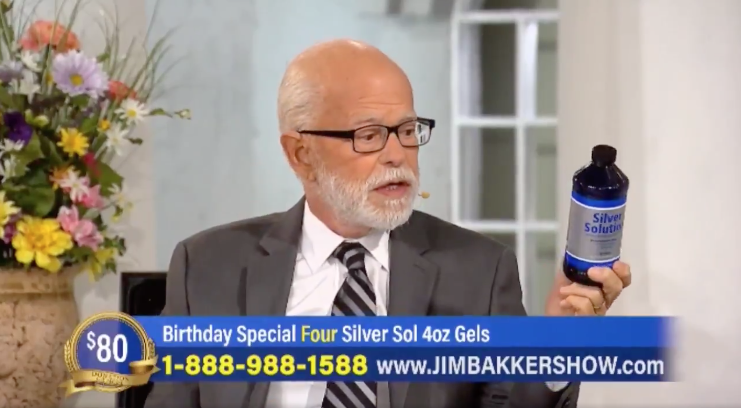 U.S. Government Warns Televangelist Jim Bakker Over Claims 'Silver Solution' Kills Coronavirus