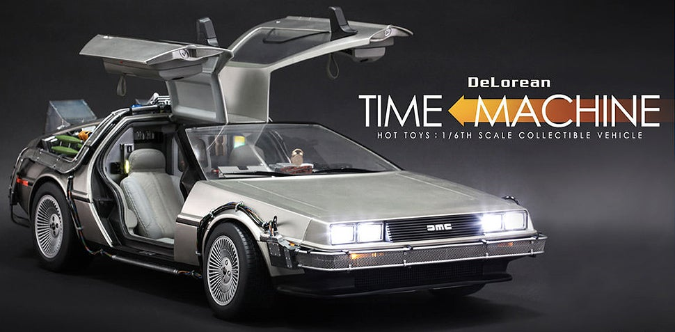 This Giant Sixth-Scale BTTF DeLorean Looks as Detailed as the Film Prop