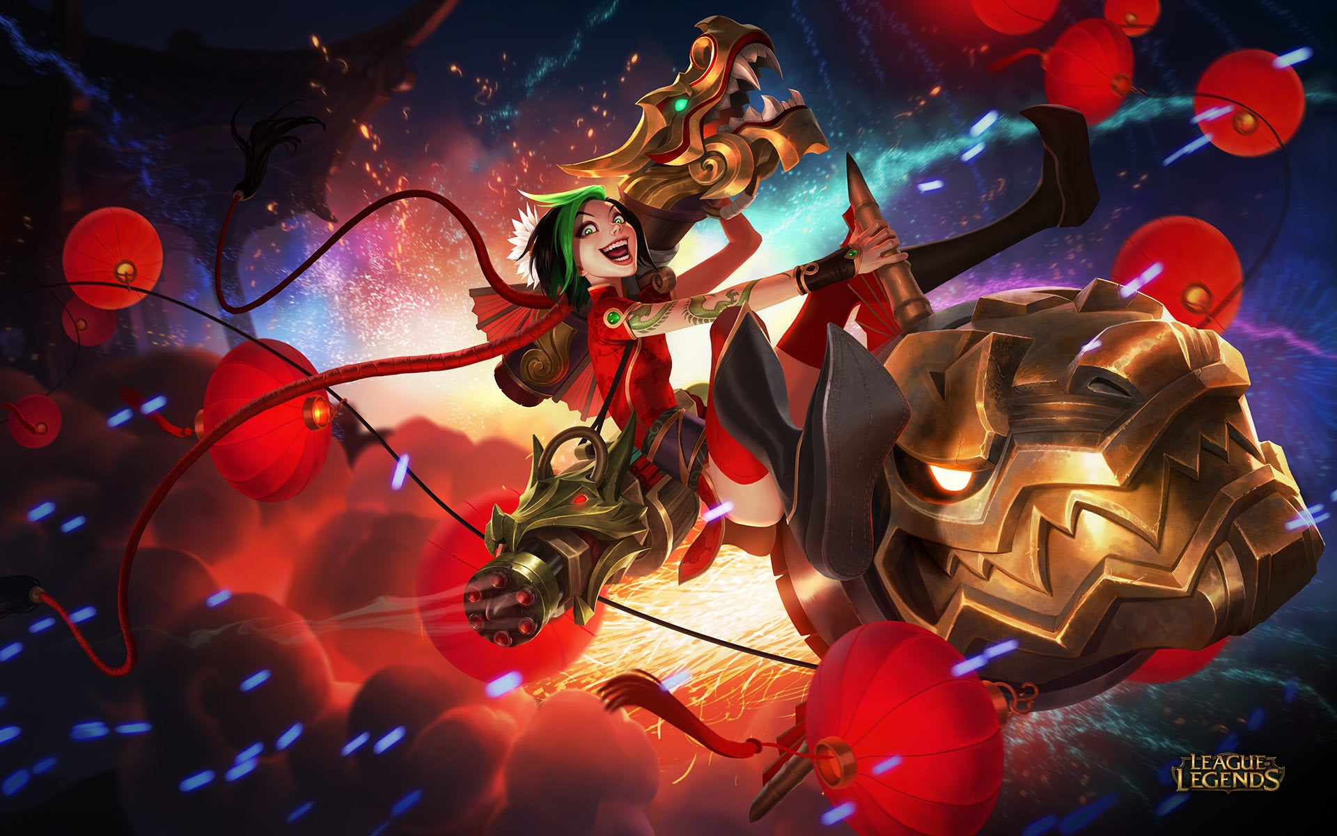 League Of Legends' Character Designs Are Awesome
