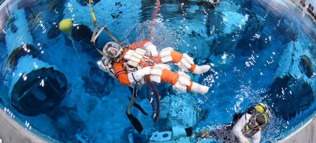 Watch Astronauts Practice Drilling an Asteroid Underwater