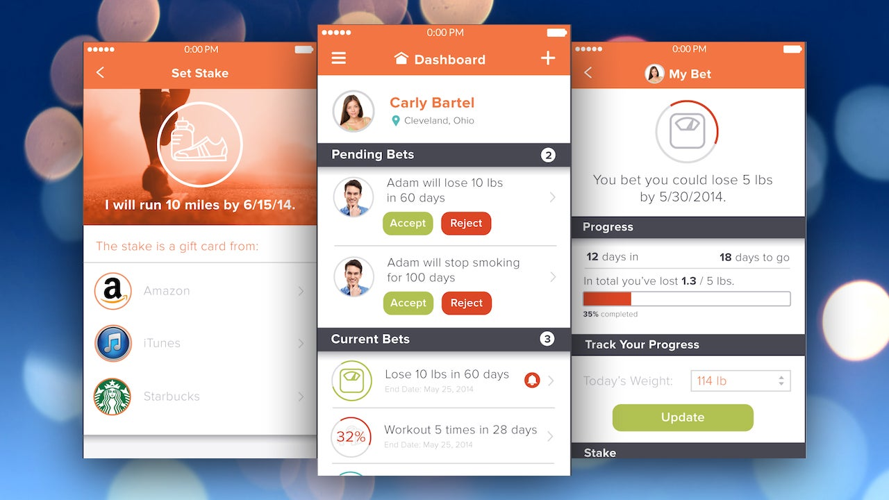 Betchyu Helps You Reach Goals by Asking Friends to Bet Against You