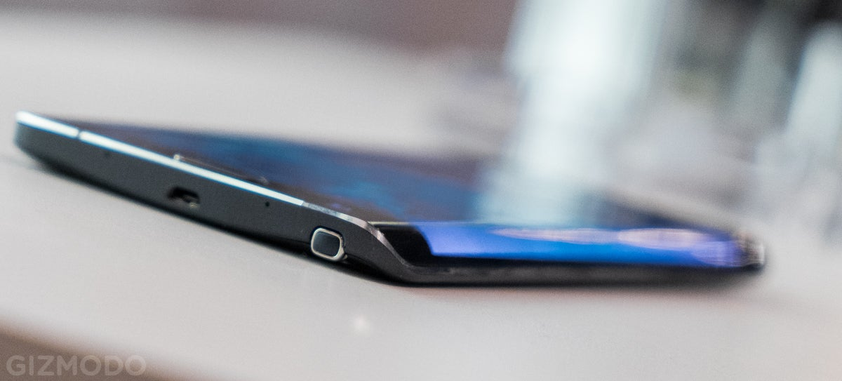 The Samsung Galaxy Note Edge Is One Weird-Looking Smartphone