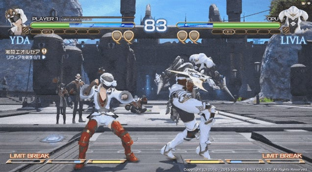 Final Fantasy XIV The Fake Fighting Game