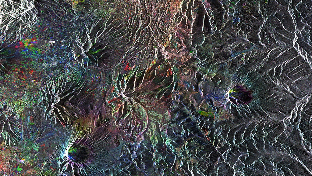 Ecuador's Mountains Sure Look Beautiful From Space