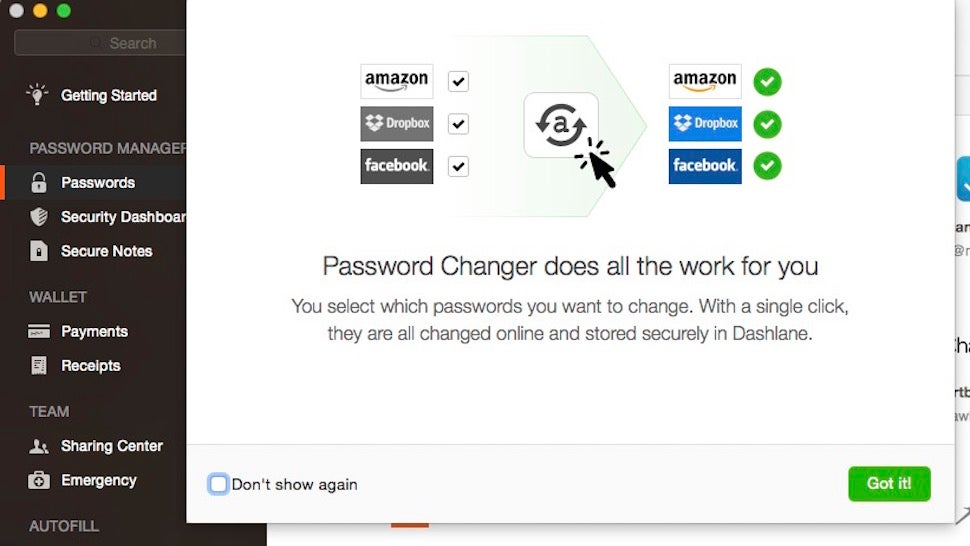 Dashlane Password Changer Can Change Hacked Passwords with One Click
