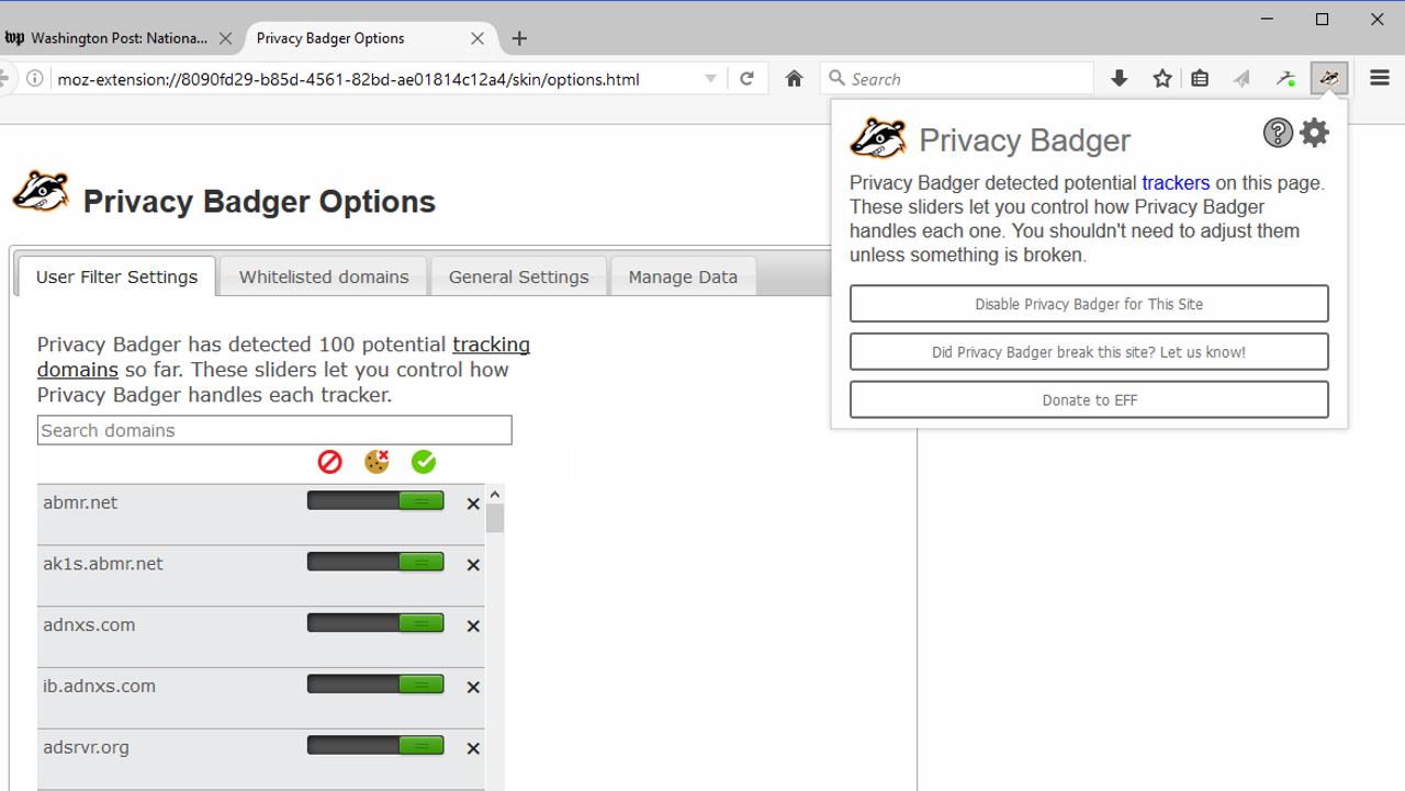 Privacy Badger 2.0 Is A Privacy Protection Powerhouse For The Web