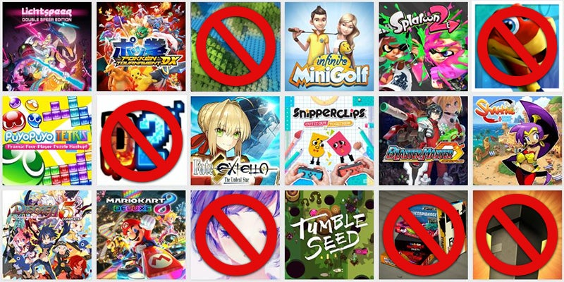 Nintendo Switch Owners Really, Really Care About The Game Icons