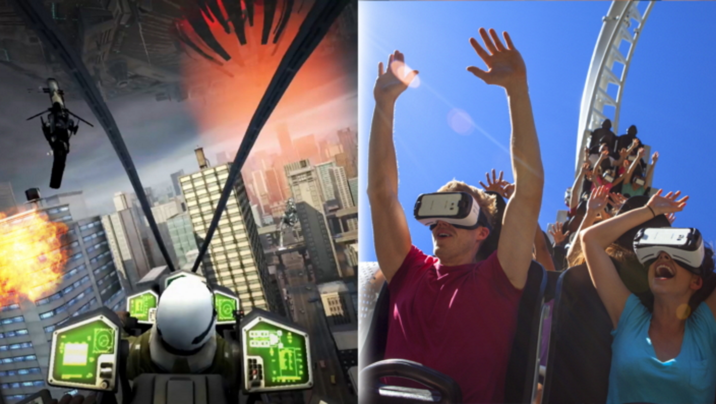 Wearing VR Goggles on Six Flags Rollercoasters Is a Next-Level Vomit Factory