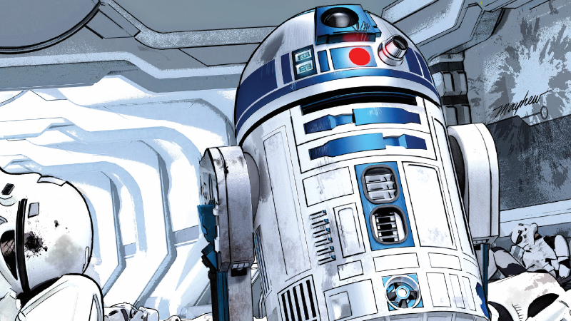 The Latest Star WarsComic Is All About What An Unbelievable Badarse R2-D2 Is