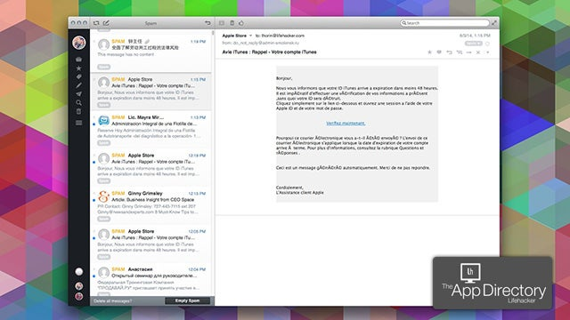 The Best Email Client for Mac OS X