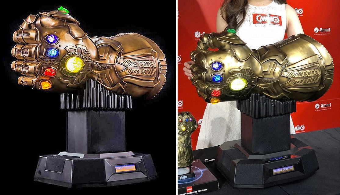 Your Playlist Will Rule The Universe With This $5200, 24-Kilogram, Infinity Gauntlet Bluetooth Speaker