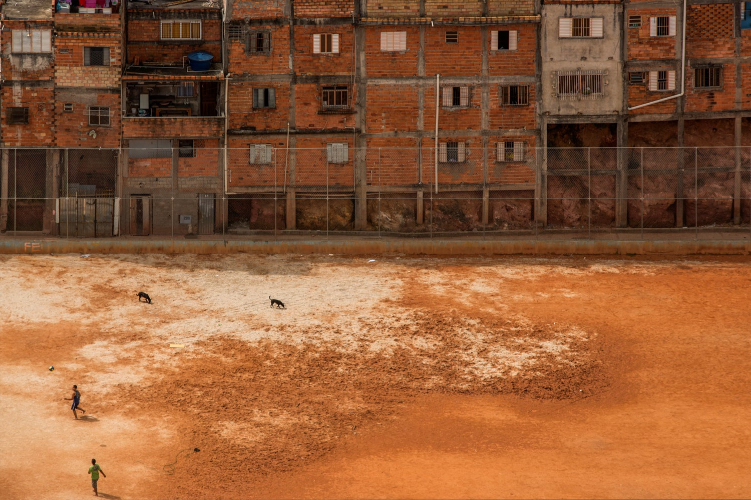 Amazing images of Brazilian soccer fields as I've never seen them before