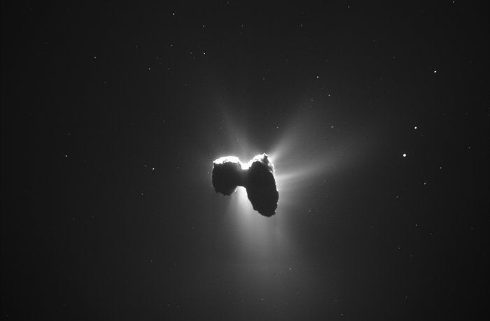 Scientists Confirm: Comets Smell Like Cat Piss