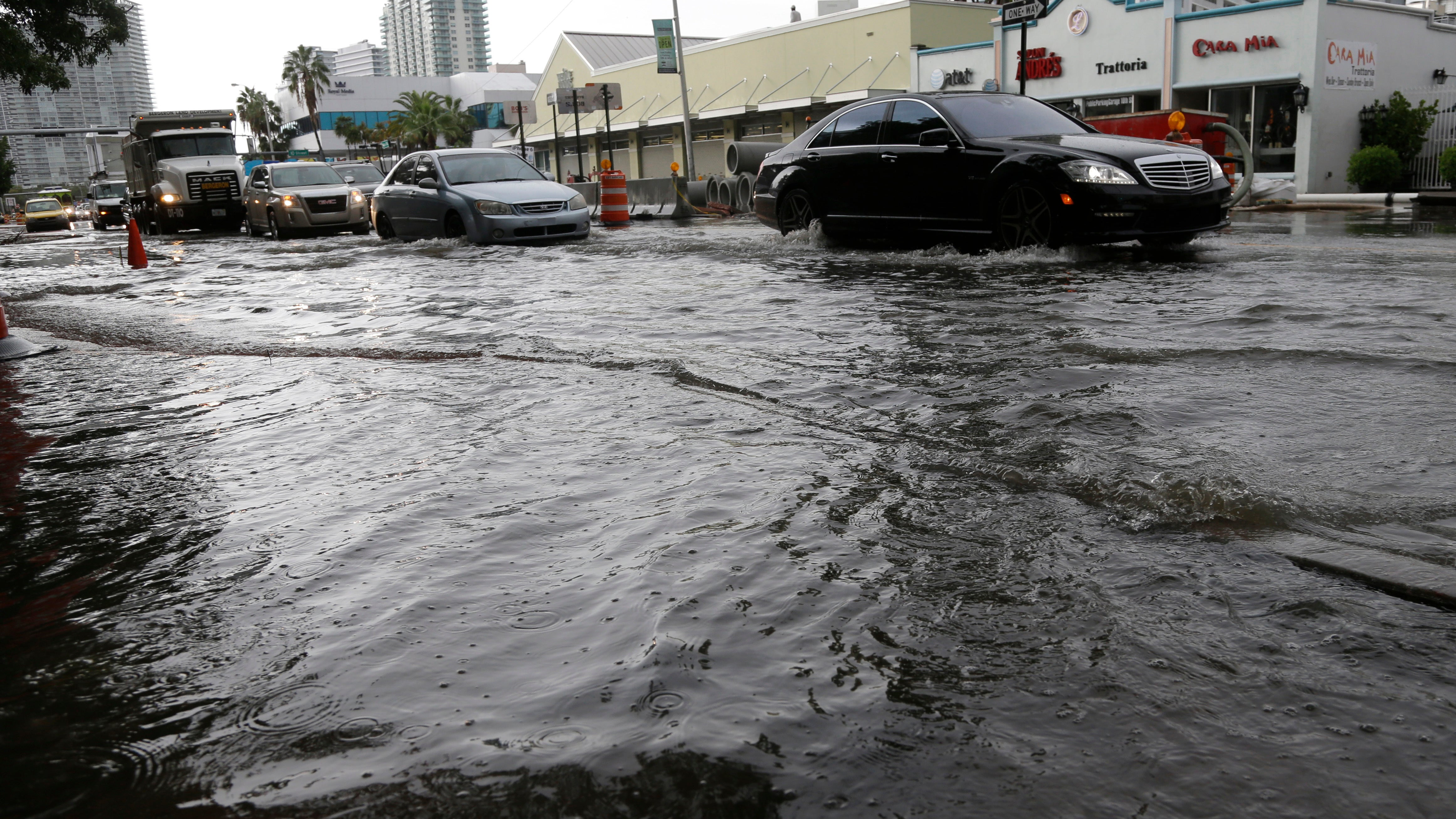 Why Are Sea Levels Around Miami Rising So Much Faster Than Other Places?