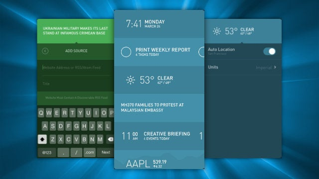 Morning, The Fantastic iPad Dashboard, Comes To The iPhone
