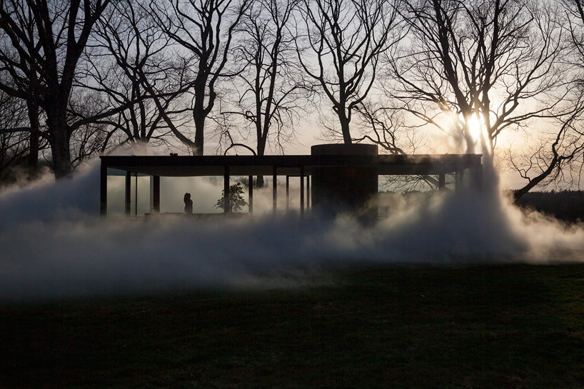 See One of America's Most Iconic Buildings Get Engulfed In Fake Fog