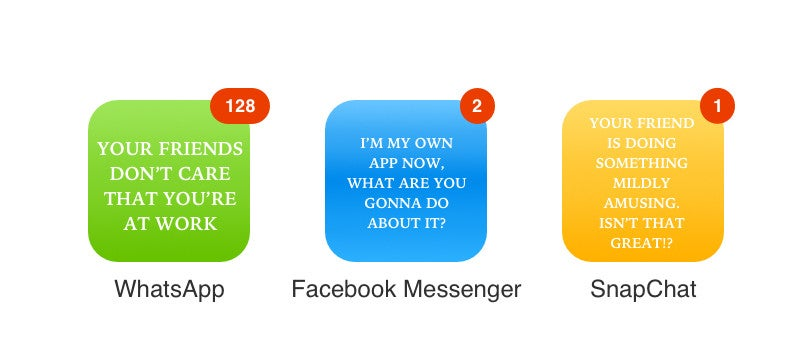 What Your Favourite App Icons Should Really Say