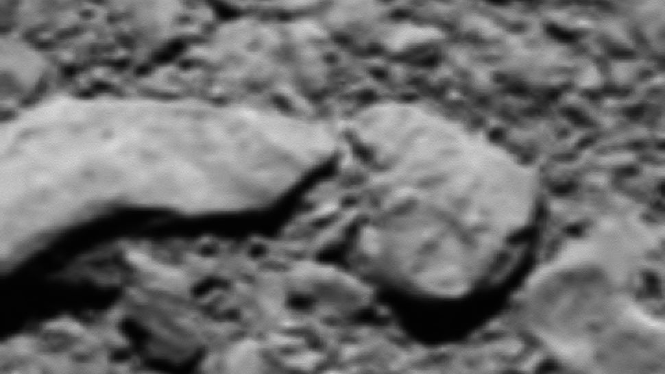 Scientists Unexpectedly Find Rosetta's Final Image Of Comet67P/CG