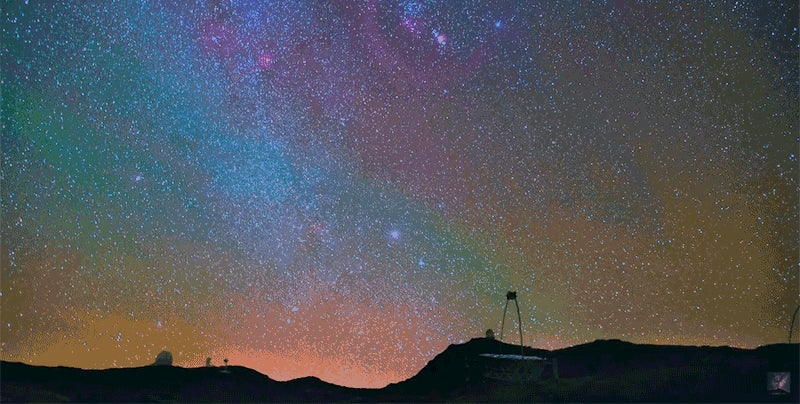 This Spectacular Stargazing Video Makes Me Want To Move Far Away From Big City Lights