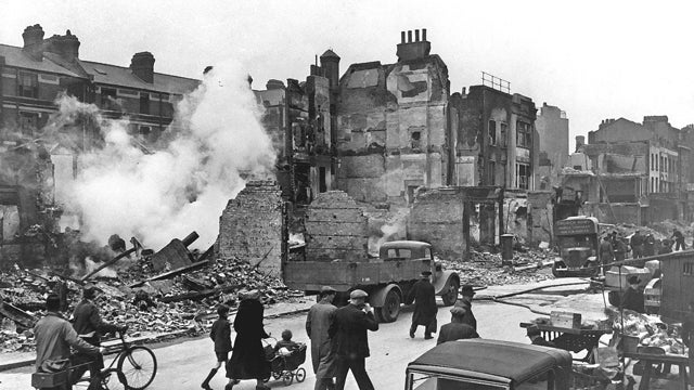 How a Secret Squad Saved London From Flooding in the WWII Blitz