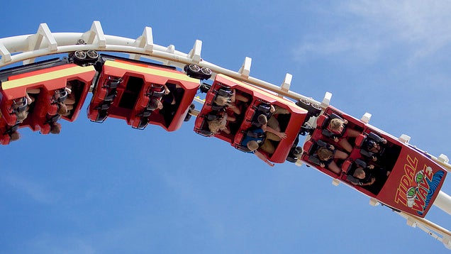 Treat Investments Like A Roller Coaster: Don't Get Off Until The End