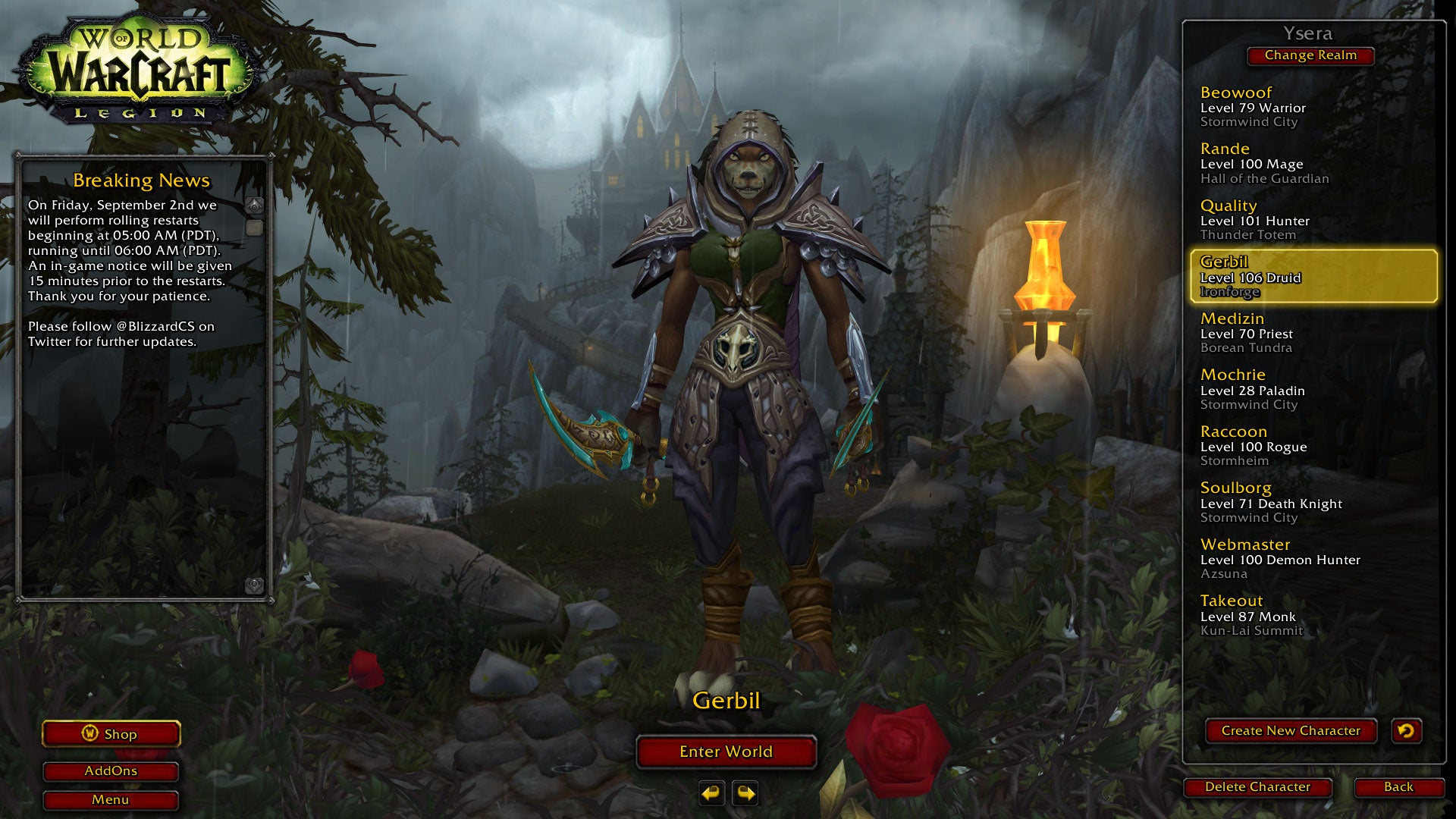 World Of Warcraft: Legion Progress Report: All The Artifact Weapons