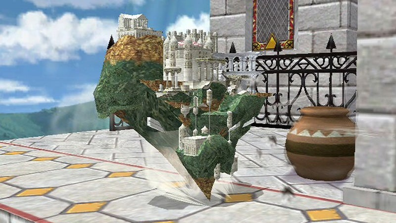 Someone Made Hyrule Temple Playable In Smash Bros.