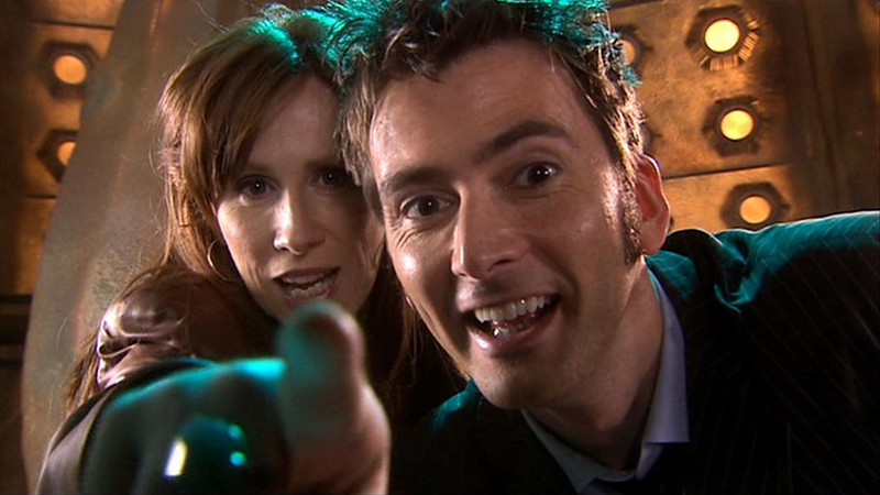 The Tenth Doctor and Donna Fight Internet Trolls In a New Doctor Who Book
