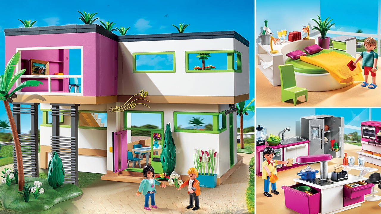It 39 S Ok To Be Jealous Of Playmobil 39 S New Ultra Modern Luxury Mansion Gizmodo Australia