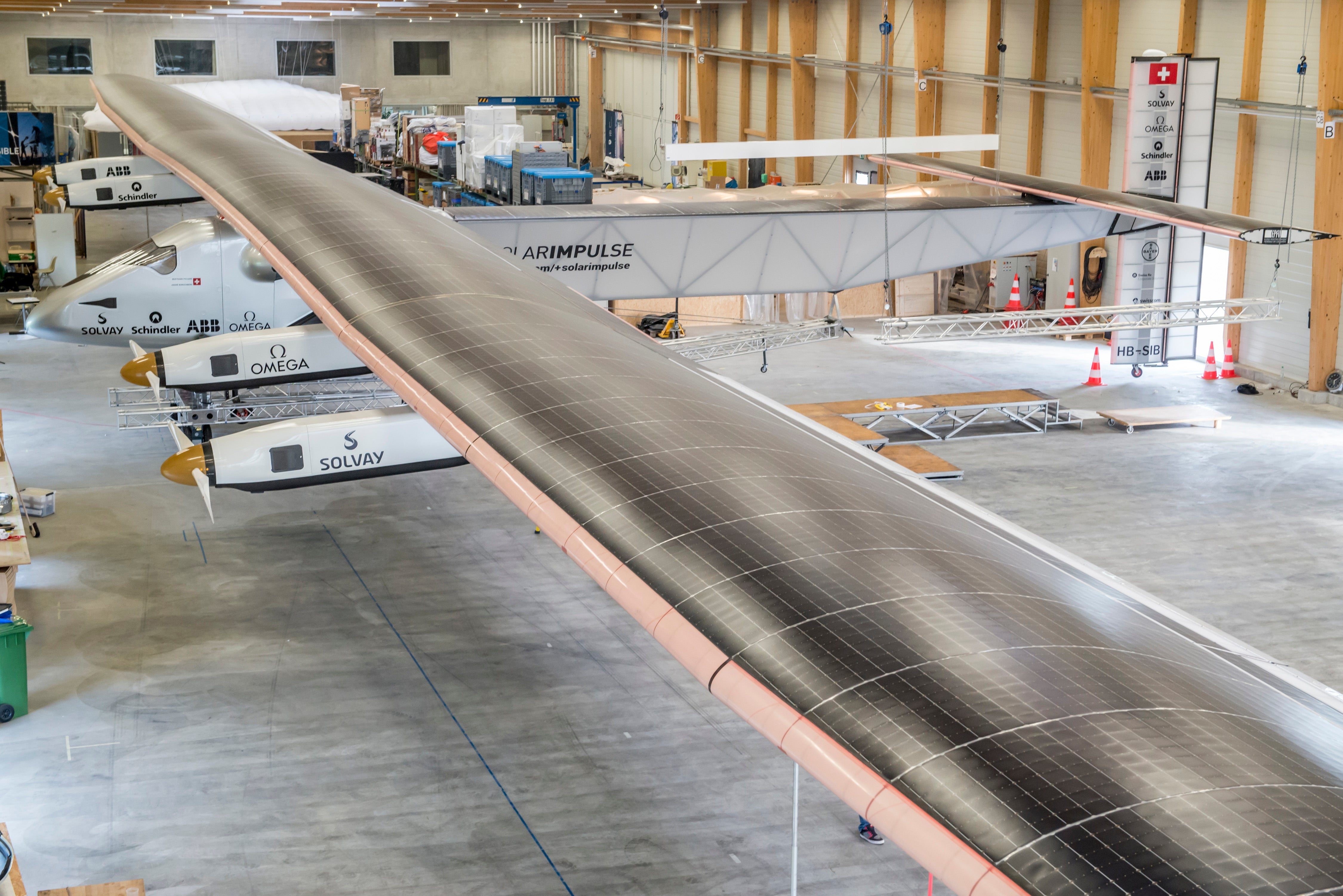 This Plane Will Circle the World Using Only the Power of the Sun