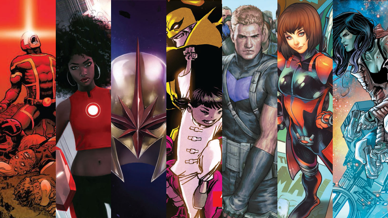 All 60 New And Returning Comic Series Coming From Marvel This Spring