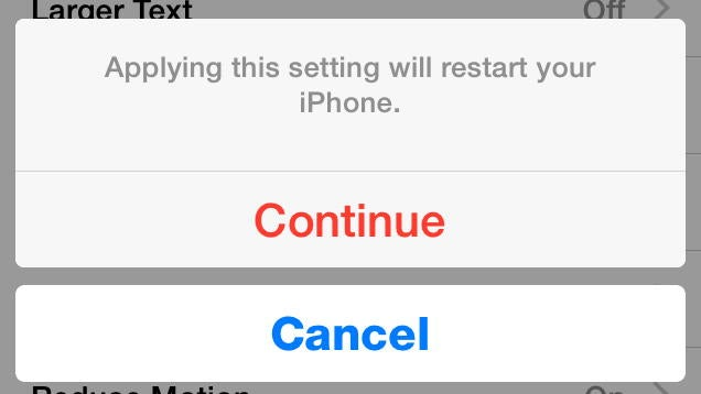 Reboot Your iPhone Without Touching the Home or Power Button