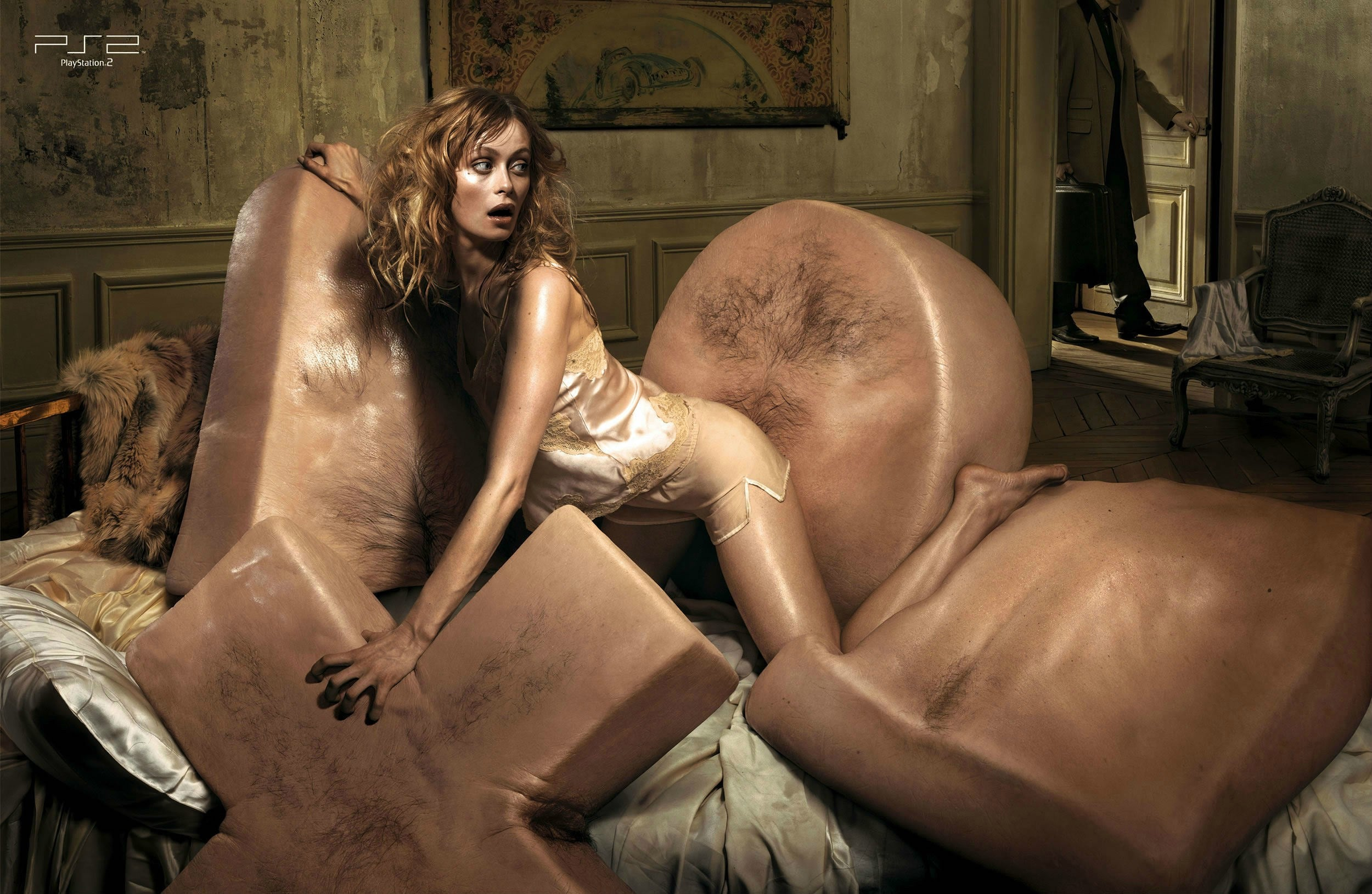 You'll Never Unsee This Gallery Of Grotesque PlayStation 2 Ads