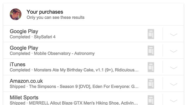 See All the Things You've Bought Online With a Simple Google Search