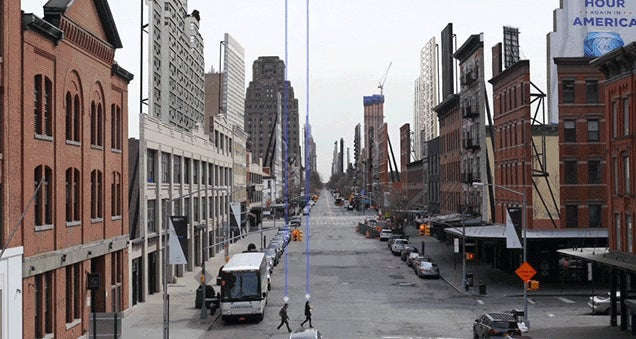 New York City Looks Like a Fake Movie Set in This Trippy Video