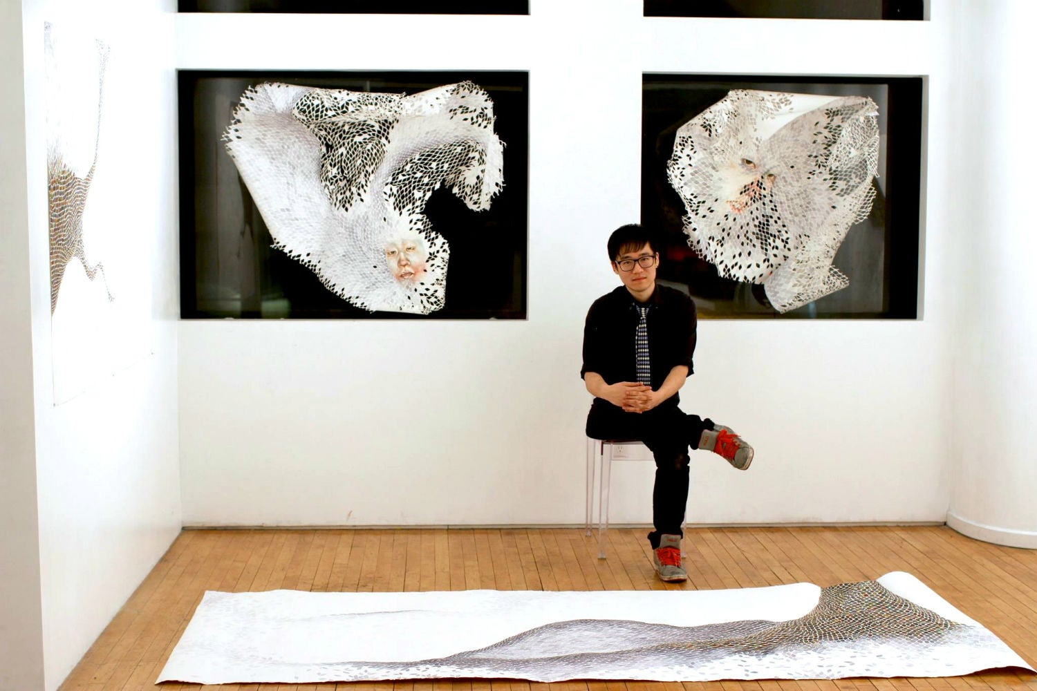 The delicate yet disturbing work of a neuroscientist turned artist