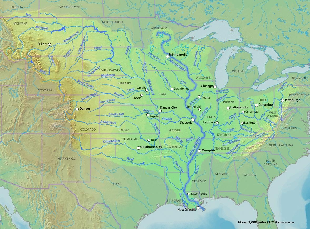 I'm Paddling All 2,552 Miles Of The Mississippi River