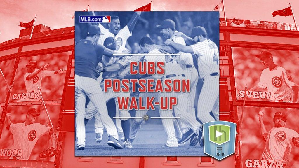 The Cubs Postseason Walk-Up Playlist