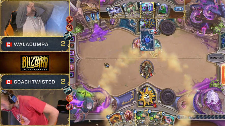Cringe Your Way Through One Of The Worst Pro Hearthstone Matches
