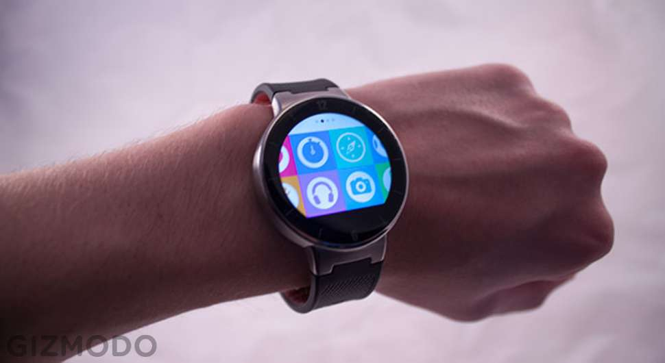 Alcatel Watch Hands-On: A Wristable for Beginners