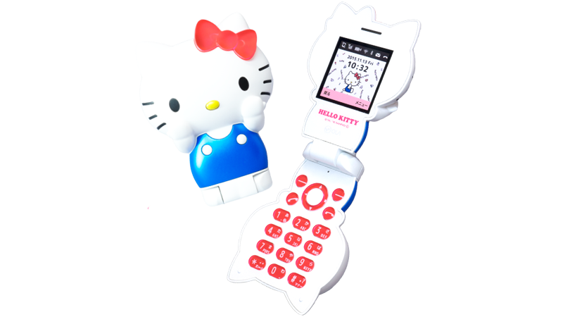 The Official Hello Kitty Mobile Phone