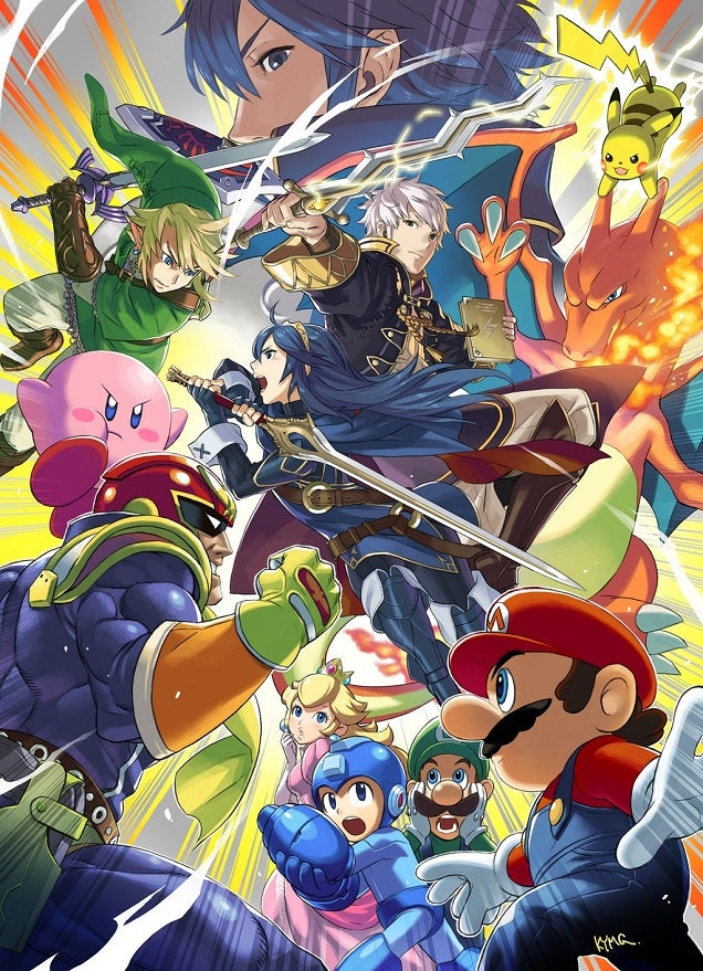 The Internet Reacts To Smash Bros.' Fire Emblem Party
