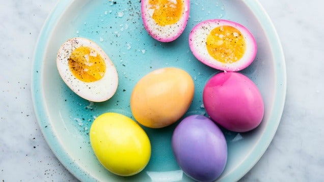 These Beautiful Pickled Eggs Belong On Your Easter Table