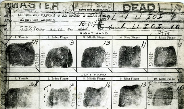 The Ultra-Laborious Way The FBI Matched Fingerprints To Paper Files