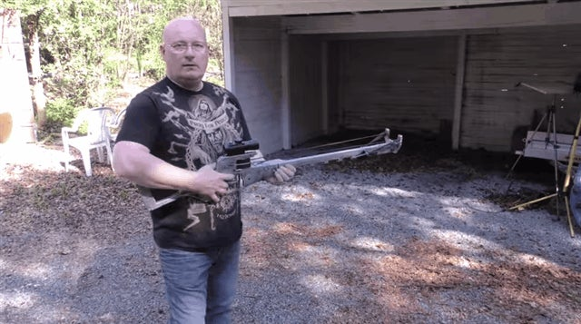 Fallout Sniper Rifle Becomes Giant-Arse Slingshot