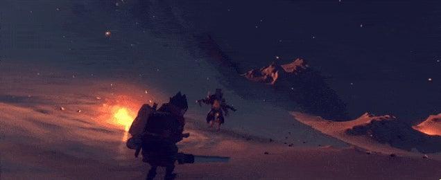 Steam Game Looks Like Zelda: The Wind Waker Meets Dark Souls