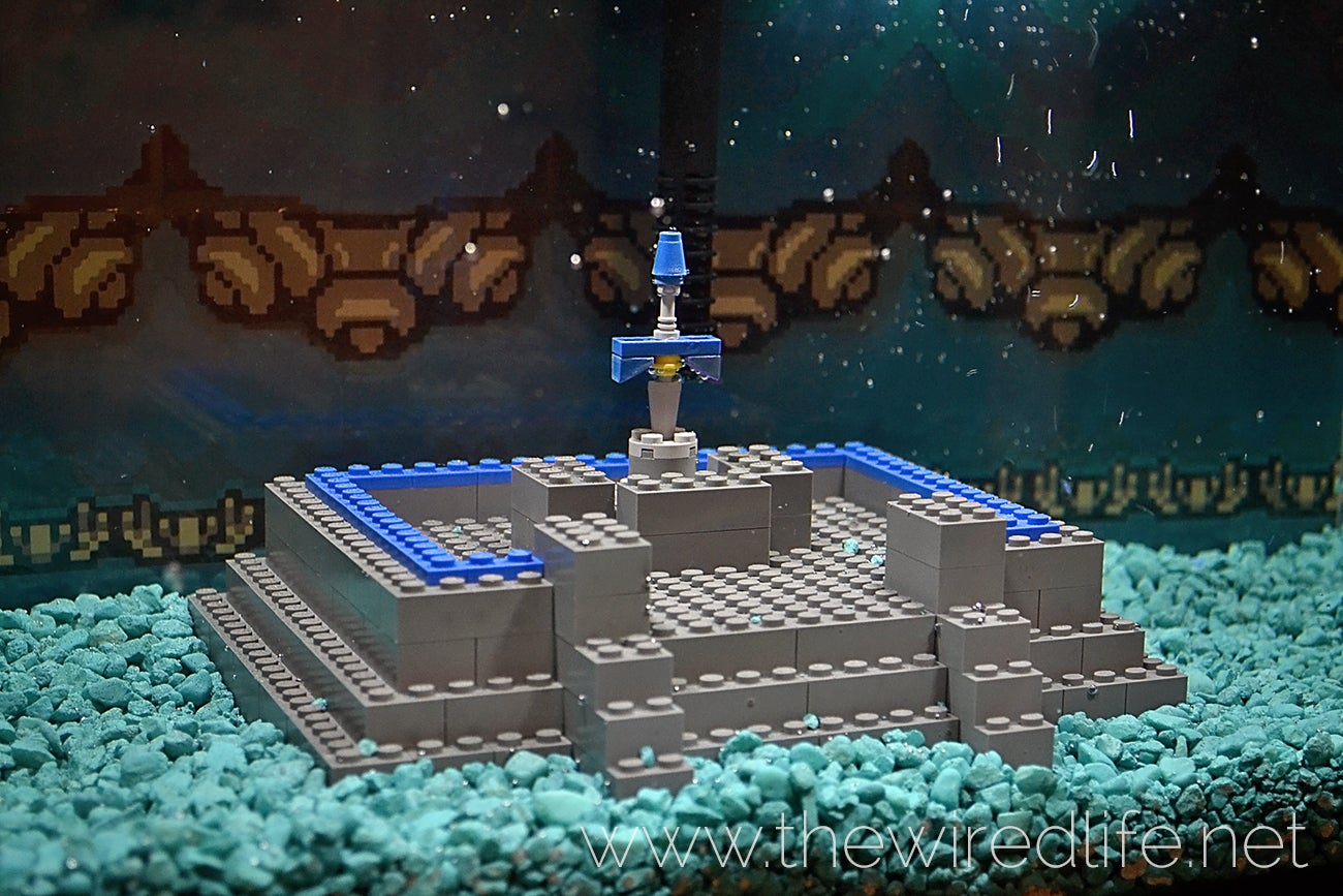 Watch A Super Mario Bros. Aquarium Get Built From Scratch