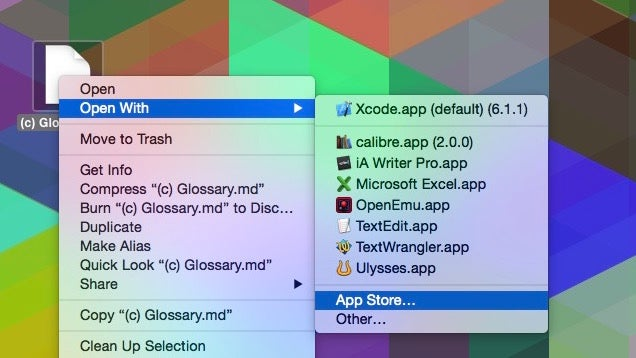 Find the Right App to Open a File Using the App Store on a Mac