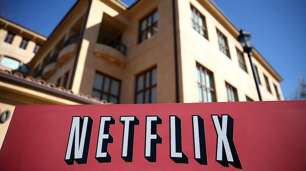 Netflix Turns Negative