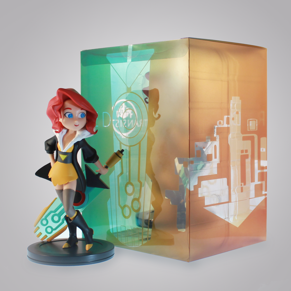Look At This Transistor Statue